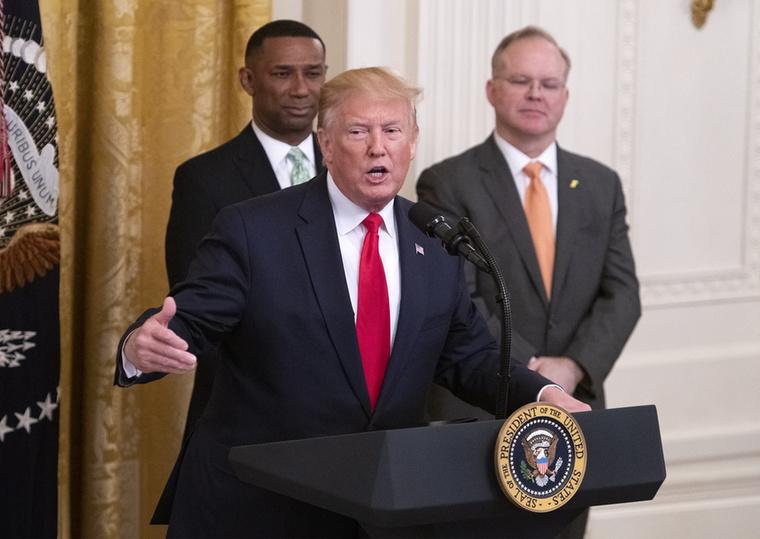 Donald Trump a minap egy beszédet tartott, amiben még nincs semmi újdonság