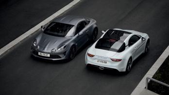 Erősebb Alpine sportkocsit mutat be a Renault