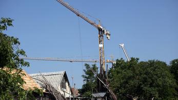 Óriásit megy az építőipar, most 40 százalékkal bővült