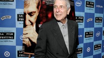 Vagyonokat adtak Leonard Cohen szerelmes leveleiért