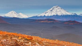 Katasztrofális vulkánkitöréstől tartanak Kamcsatkán