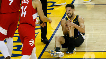 Súlyosan megsérült a Golden State kosarasa az NBA-döntőben
