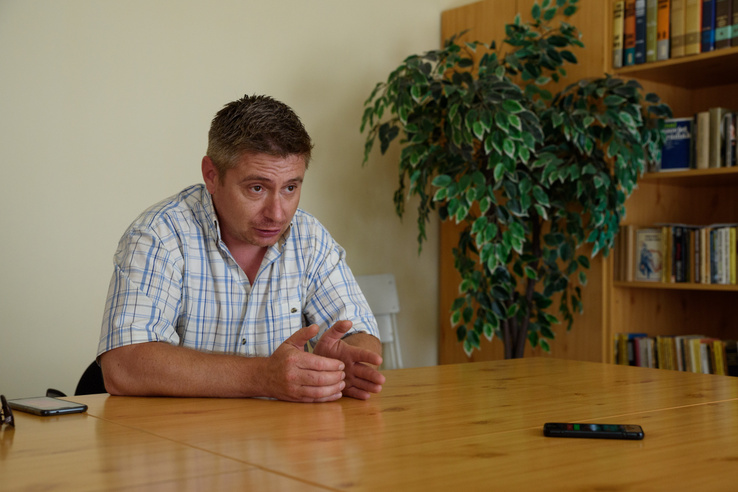Klózer Gyula, Kétújfalu polgármestere