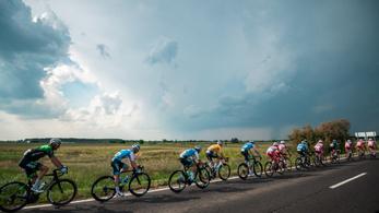 A pusztai hajránál cserélt gazdát a Tour de Hongrie magyar trikója