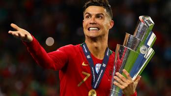 Ronaldo köszönetet mondott és felsorolta halomnyi új rekordját