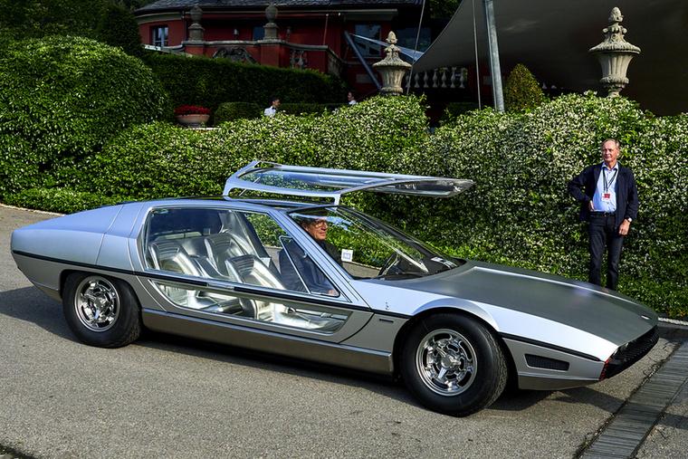 Vitán felül a világ egyik legszebb és legkülönlegesebb autója Lamborghini Marzal
