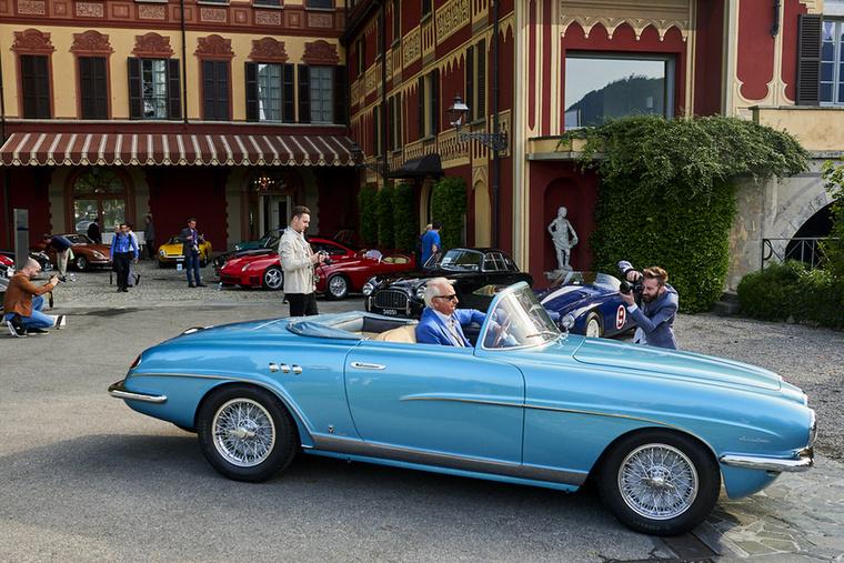 Corrado Lopresto  Európa egyik legkomolyabb autógyűjtője