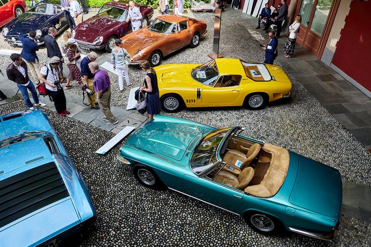Itáliai egyeduralom: Ferrari 250 GT California Spyder SWB, Aston Martin DBS C, Ferrari 275 GTB/4, Bizzarrini GT Strada 5300, Maserati Mistral 4000 Spider és Lamborghini Miura P 400 S