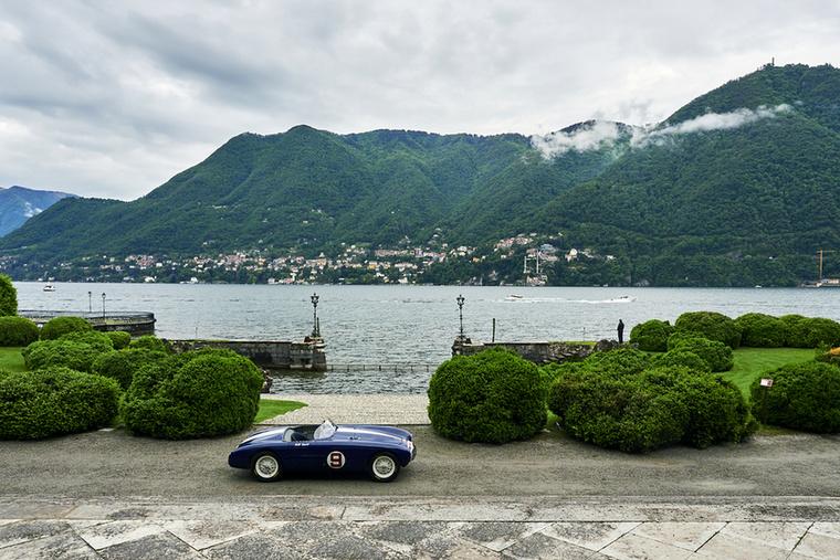 Utolsó pillantás a Comó-i tóra a Villa Visconti elől