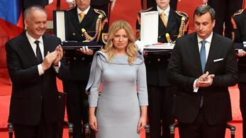 Beiktatták hivatalába Szlovákia első női államfőjét