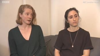 Megszólalt a leszbikus pár, akiket egy londoni buszon vertek össze
