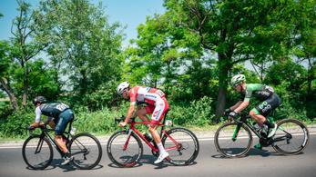A sárga trikós nyerte a Tour de Hongrie királyszakaszát, két magyar is a dobogón