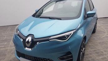 Kiszivárgott fotón az új Renault Zoe