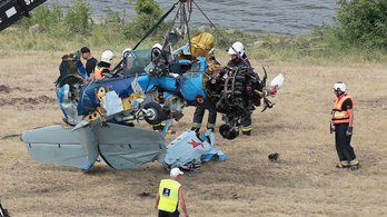 A Visztulába csapódott egy repülő egy lengyel légibemutatón