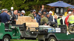 Elszabadult golfkocsi okozott súlyos balesetet a US Openen