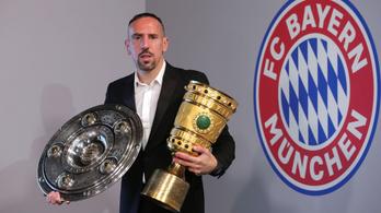 Ribéry még két évet és egy nagy csapatot akar