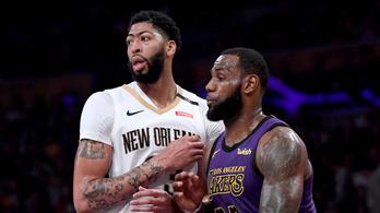 Robbant az első nyári bomba az NBA-ben, Anthony Davis a Lakersbe igazolt
