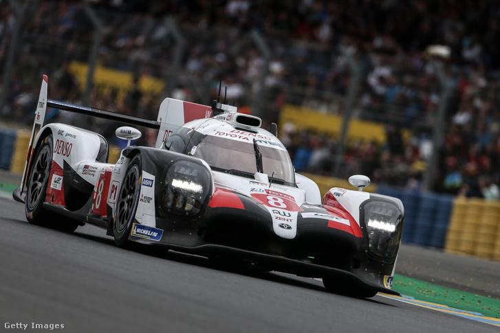 Fernando Alonsóék Toyotája a 2019-es Le Mans-i 24 órás versenyen