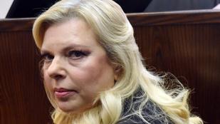 Elítélték Benjamin Netanjahu feleségét közpénzzel való visszaélésért