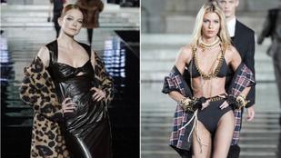 Mihalik Enikő a héten Firenzében dögösködött a Hadid-lányokkal és Stella Maxwellel
