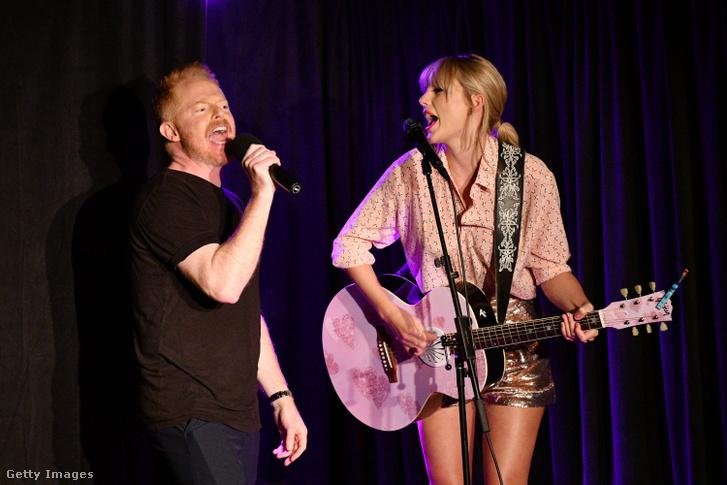 Jesse Tyler Ferguson és Taylor Swift