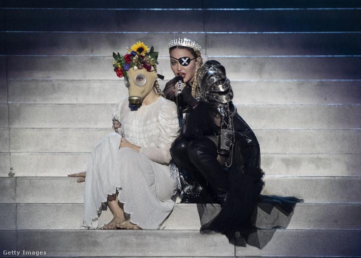 Madonna az Eurovíziós Dalfesztiválon 2019-ben, Tel Avivban