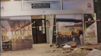 Civil repülőteret támadtak Szaúd-Arábiában a húszi lázadók