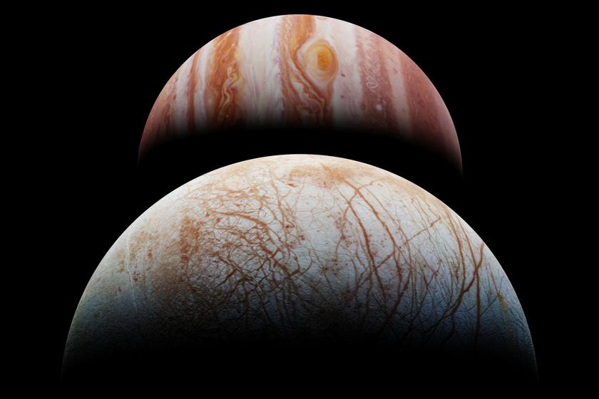 Rendkívüli anyagra bukkantak a Jupiter holdján - Történelmi felfedezés