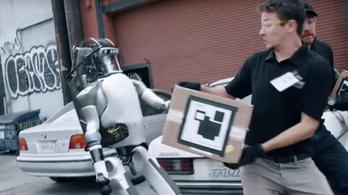 Dehogy áll bosszút a Boston Dynamics robotja!