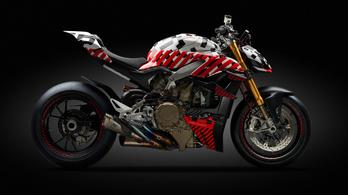 Ilyen lesz a Ducati Streetfighter V4
