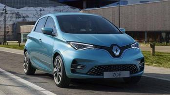 Sokkal vonzóbb lett a Renault Zoe