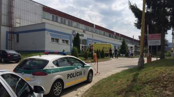 Értekezletet tartott egy szlovák cégvezető, amikor valaki berontott, és fejbe lőtte