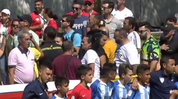 A Malaga gyerekfutballistái tudták, mit tegyenek a balhézó szülőkkel
