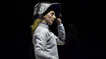 Bronzérmet nyert Márton Anna a vívó Eb-n