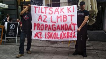 Szélsőjobboldali aktivisták hiúsították meg a Pride filmvetítését