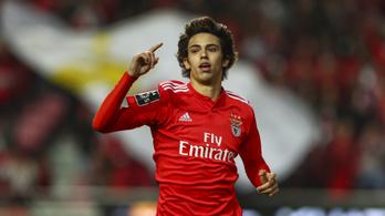 120 millió euróért az Atléticóé a legnagyobb futballtehetség, João Félix