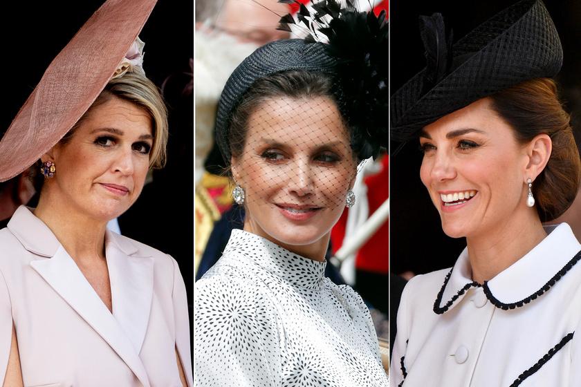 Katalin hercegné gyönyörű ruhában - A spanyol és holland királynét is túlragyogta