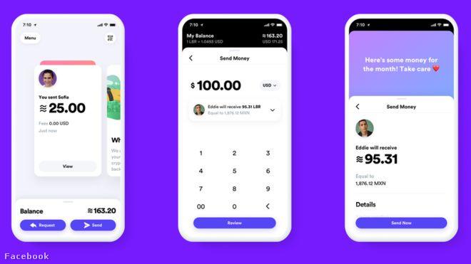 A Calibra fizetési rendszer használata egyszerű lesz, akár szöveget írni, mondja a Facebook