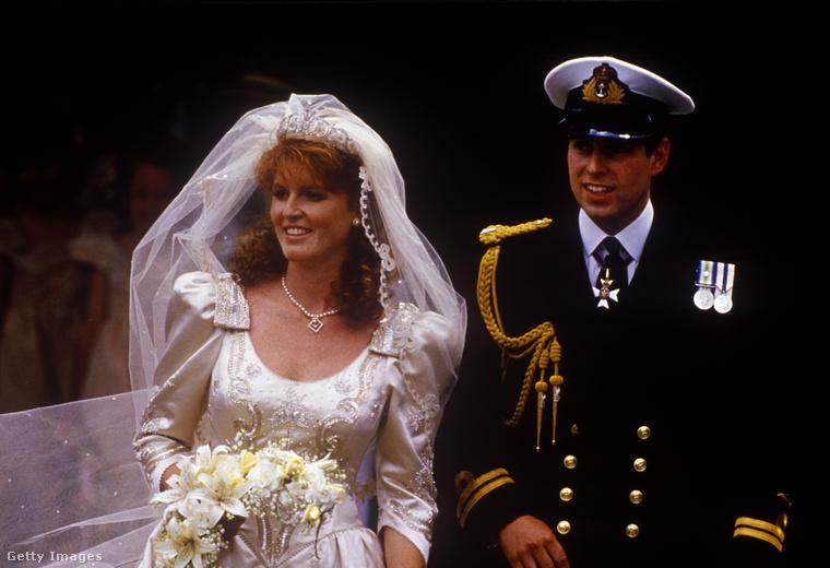 Sarah Ferguson és András, yorki herceg esküvője