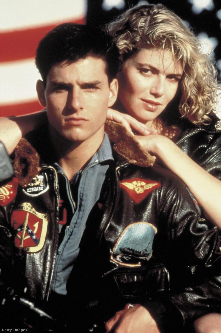 Kelly McGillis és Tom Cruise