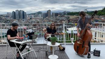 Magyar zenekar koncertezett a koreai demilitarizált zónában