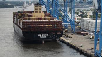Rekordmennyiségű kokaint találtak egy teherhajón Philadelphiában