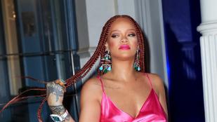Frizurát váltott Rihanna, és nagyon bejött neki