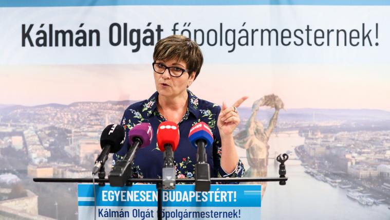 Kálmán Olga hírportált és rádiót indítana Budapesten
