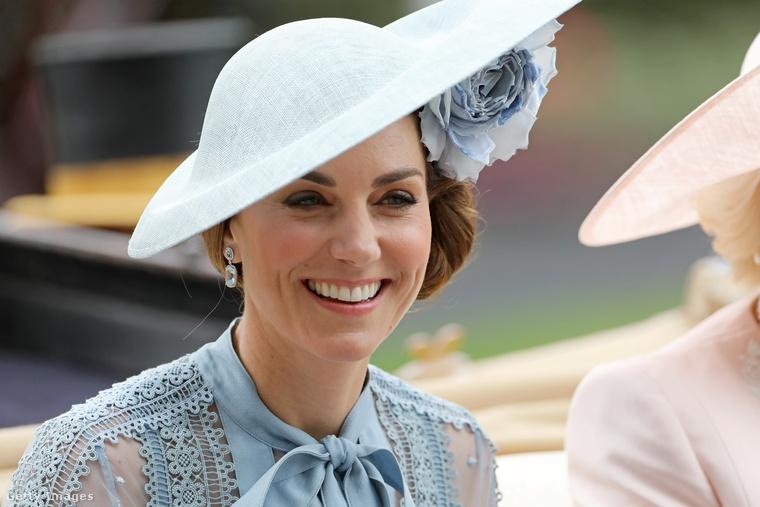 Vilmos herceg feleségének végig nagyon jó kedve volt
