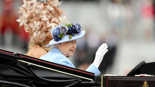 Idén is felvonult néhány mókás kalap az ascoti derbin