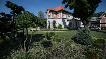 Kicsiny kastély Budapesten, gyönyörű kerttel