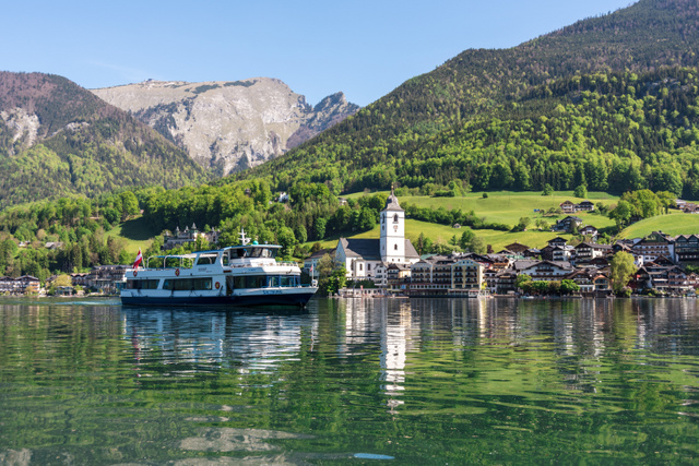 Hajóval a Wolfgangsee-n - Salzburg AG