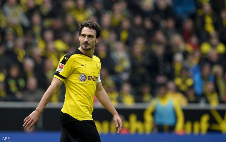 Matts Hummels a Dortmund játékosaként 2016. április 30-án
