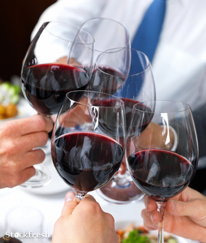 stockfresh 42315 closeup-of-people-toasting-glass-of-whine sizeM
